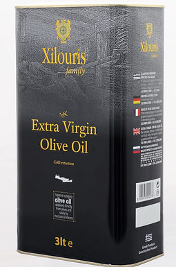 Xolouris Family Extra Virgin Olive Oil canister 3L