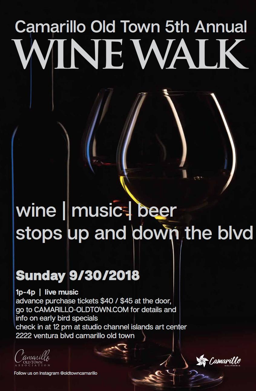 5th Annual Wine Walk 2018