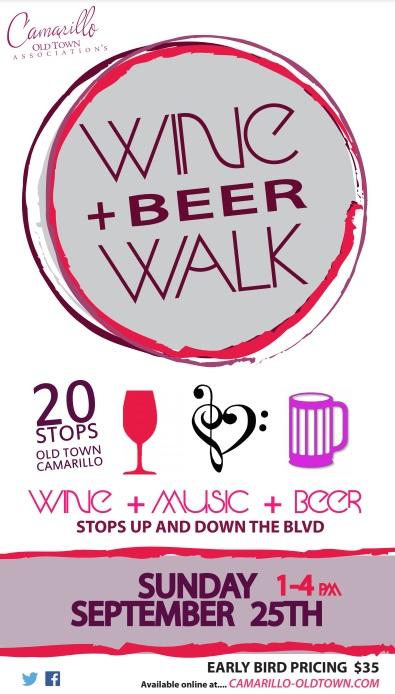 3rd Annual Wine Walk