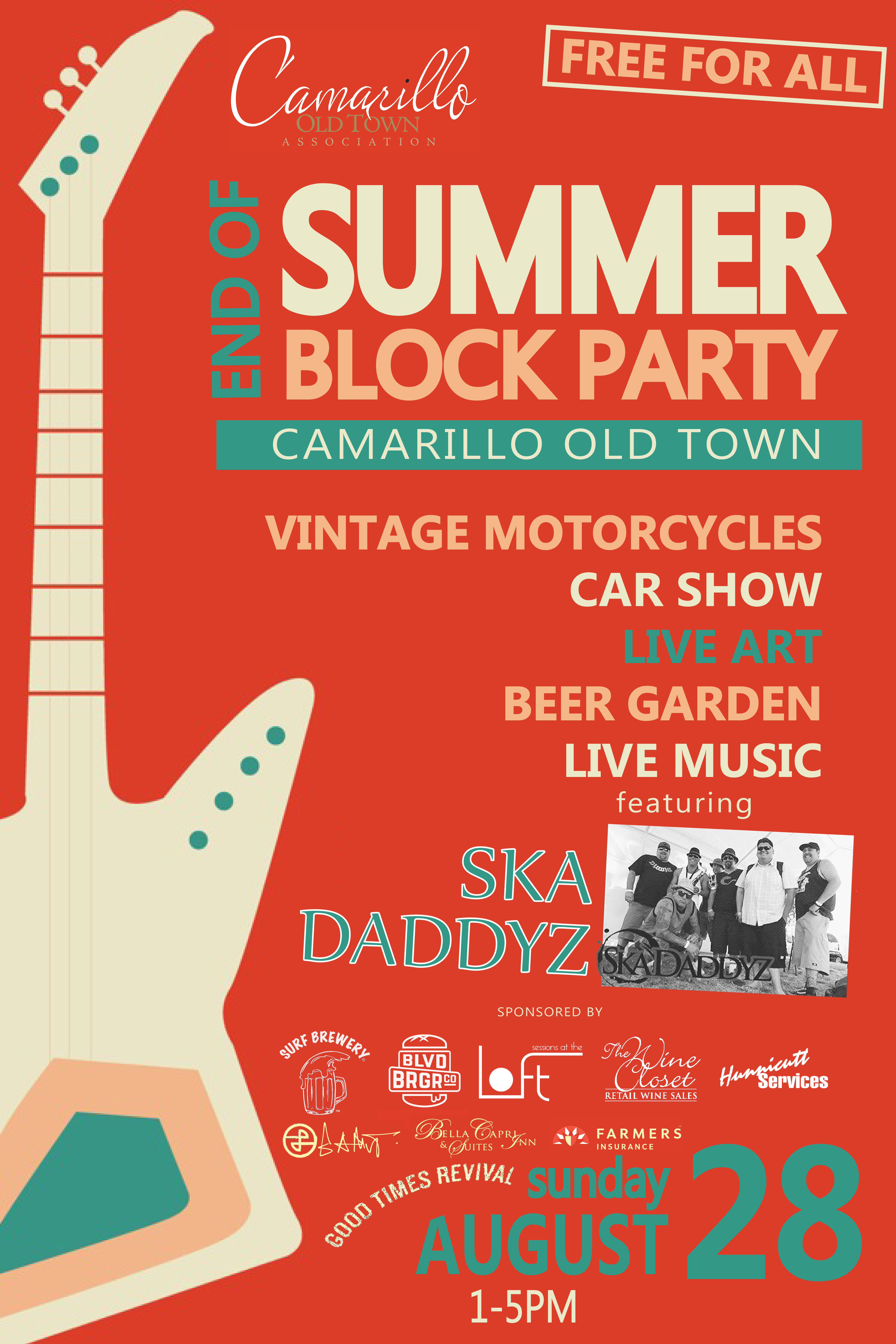 End of Summer Block Party