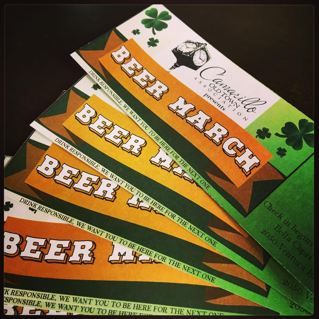 Beer March 2016 tickets