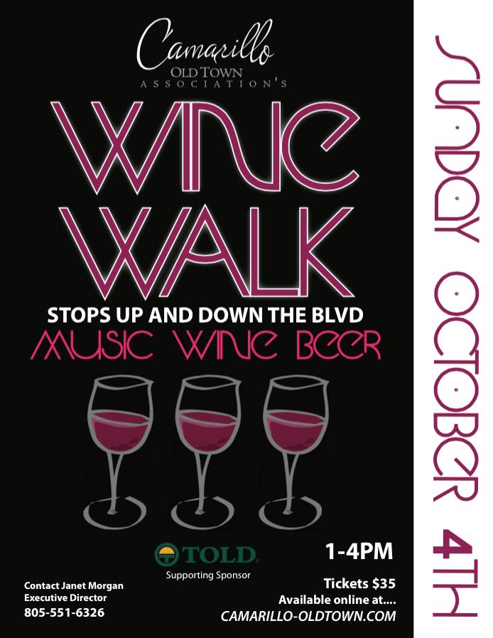 2nd Annual Wine Walk