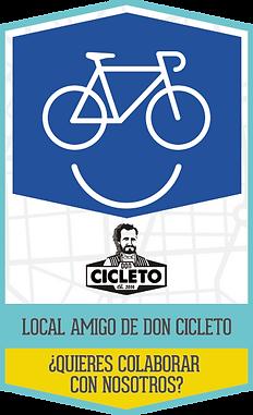 ¿Quieres que tu local sea amigo de Don Cicleto?