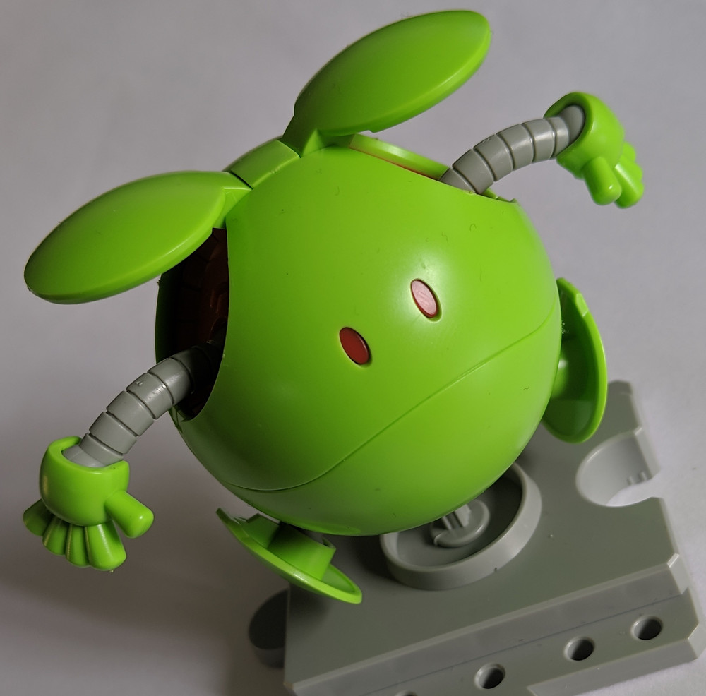 Makes me chuckle to think that Gundam needed a mascot,,,
