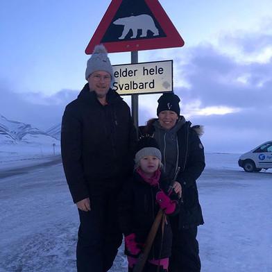 Varma hälsningar från ett kallt Svalbard