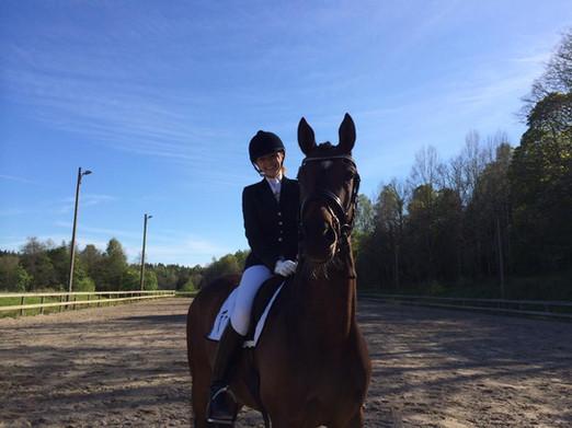 Treårstest med Åsa Hinton i sadeln