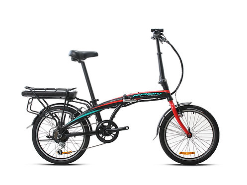 EFD100 Elektrikli Katlanır Bisiklet