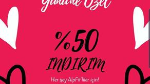 AlpFit'ten Sevgililer Günü İçin 2 Ayrı Sürpriz!