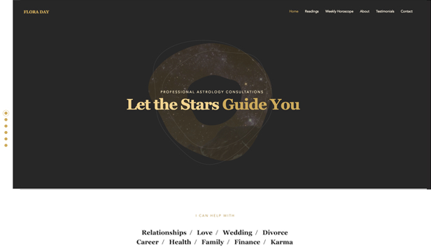 Consulting & Coaching website templates – Astrologer