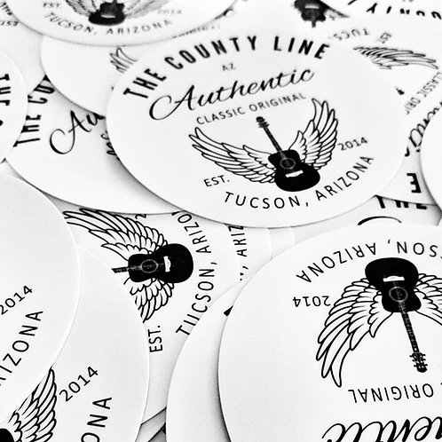 "County Line Original 5"" Stickers"