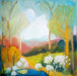 Trish O Shea Spring Woodland oil painting.jpg