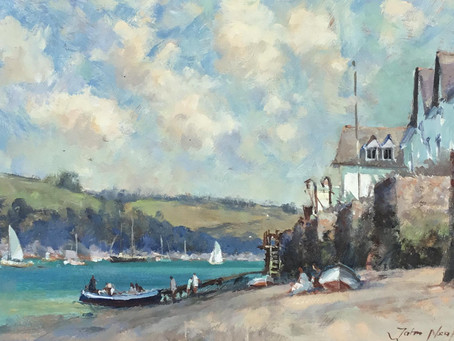 New in - Fabulous John Neale Impressionist oil painting