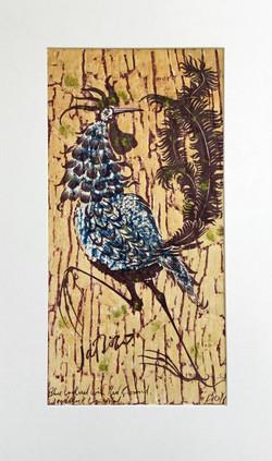 Artist unknown Coloured Woodblock