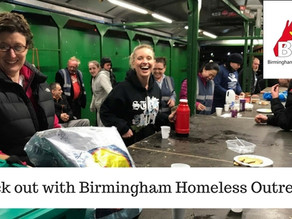 Our 2017 Charity – Birmingham Homeless Outreach