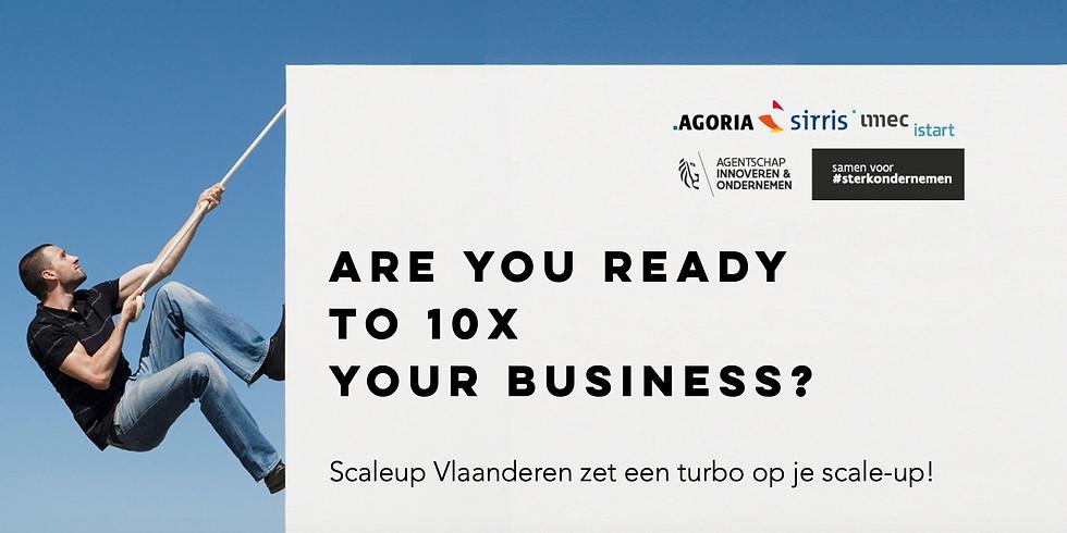 Infomoment Scaleup Vlaanderen