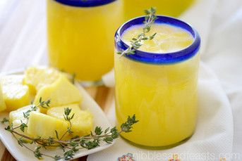 Pineapple Thyme Agua Fresca