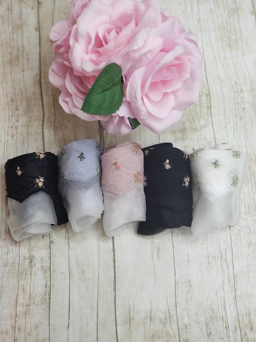 Nylocks 5 pack bundle floral
