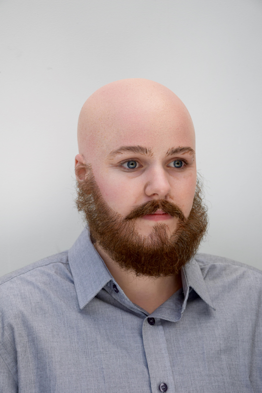 bald cap, gender change
