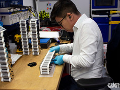 Manufacturing a Battery for Helia