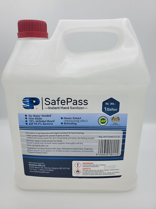 SafePass Hand Sanitizer 1 Gallon