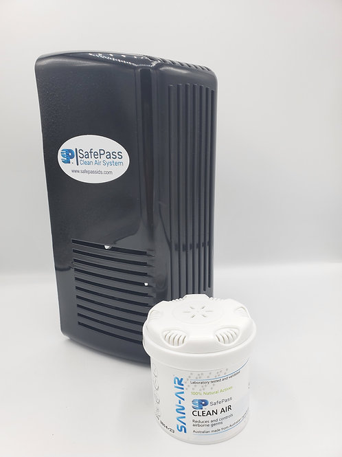 SafePass 2000 Dispenser Black Plug-in