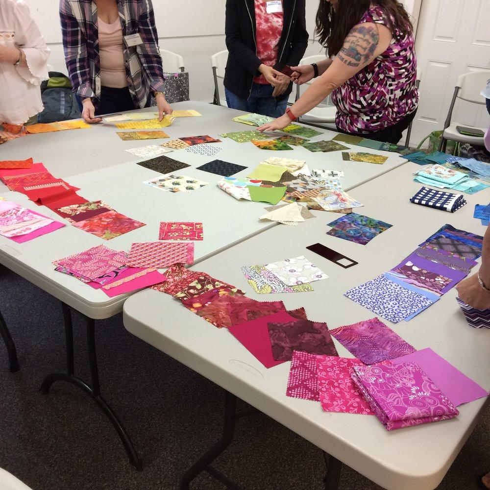 Group Quilt Design Class