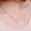 """Thumbnail: Nous deux ensemble """"collier personnalisé double nom"""""""