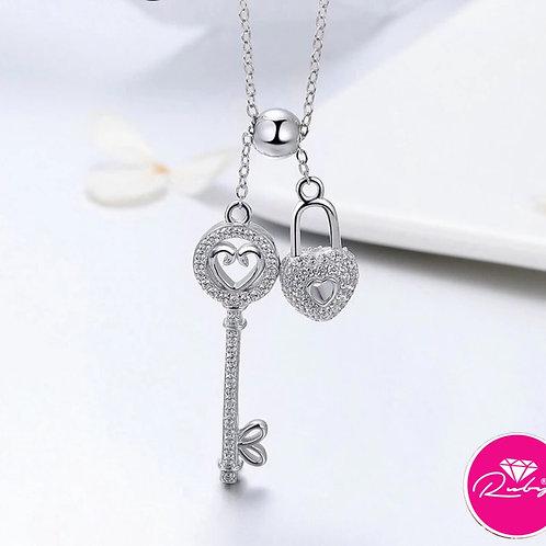 Collier clef du Coeur