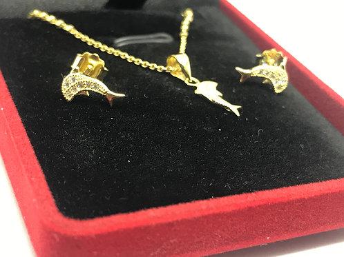 Ensemble collier dauphin