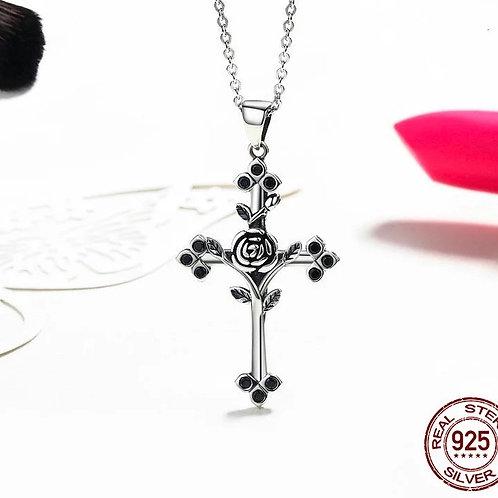 Collier croix 2