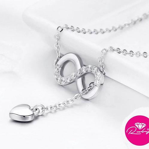 Collier infini Coeur