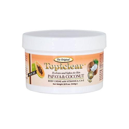 Topiclear Papaya and Coconut Body Cream