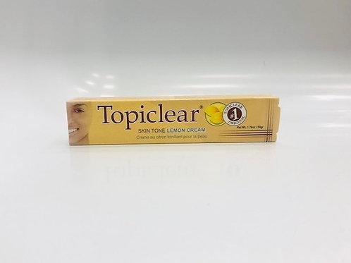 Topiclear Number One Skin Tone Lemon Cream 50 gr