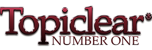 TOPICLEAR BURGUNDY NUMBER ONE LOGO.png