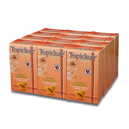 Topiclear Papaya Exfoliating Soap Package