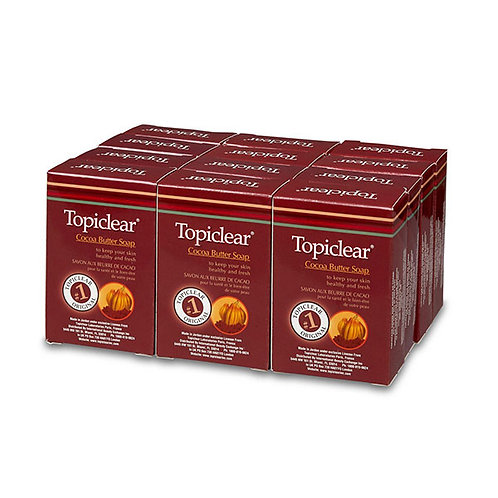Topiclear Cocoa Butter Soap Package