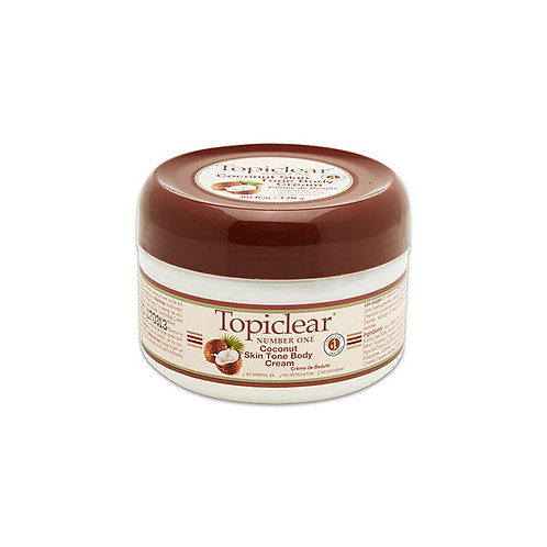 Topiclear Coconut Body Cream Jar