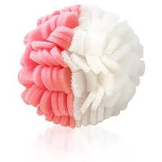 ViaBuff Body - Exfoliating Buff. Pink and White,  Moderate and Extra Dry