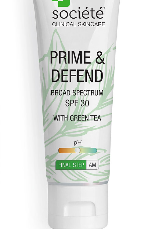 SOCIETE - PRIME and DEFEND SPF 30