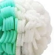 ViaBuff Body - Exfoliating Buff. Mint and White , Mild and Extra Dry