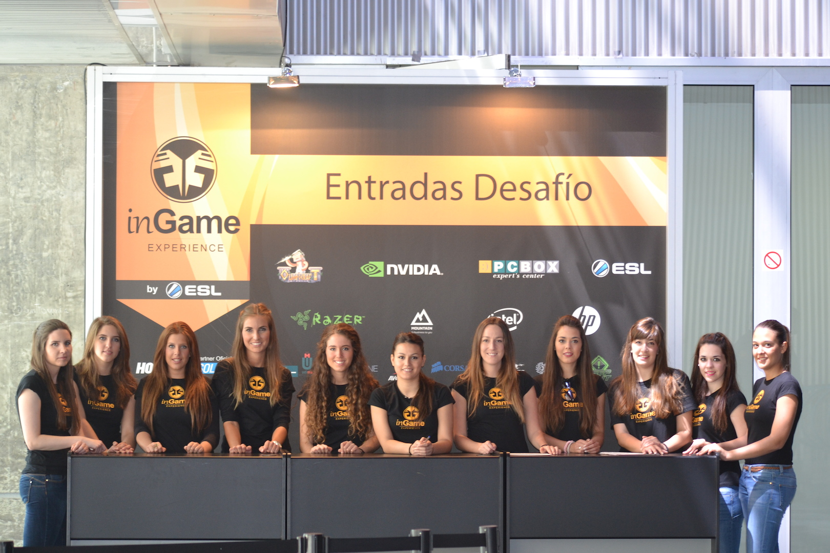 In Game Experience Madrid