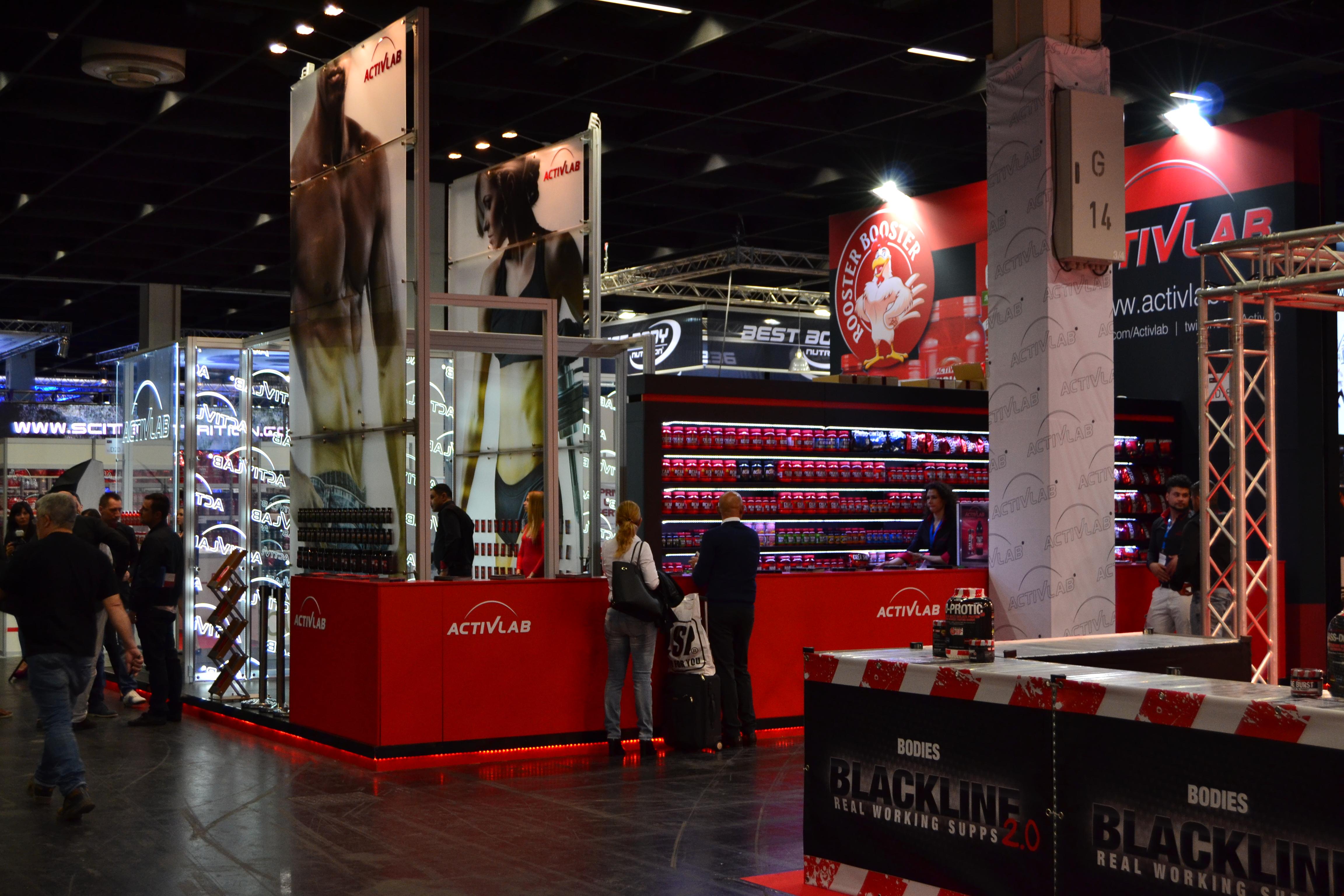 FIBO EXPO 2014 en Colonia, Alemana