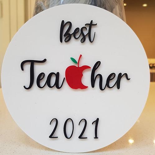 Best Teacher room hanger
