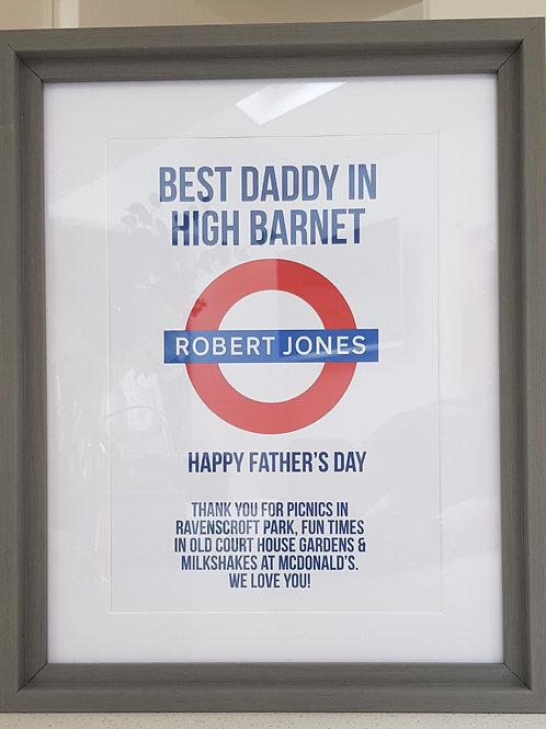 Best Daddy Print
