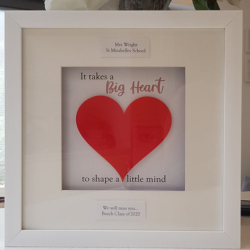 Big Heart/Teacher frame