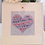 Love heart, personalised word art, special occasion.
