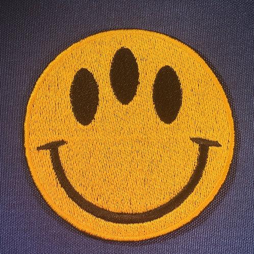 Alien Happy Face Patch