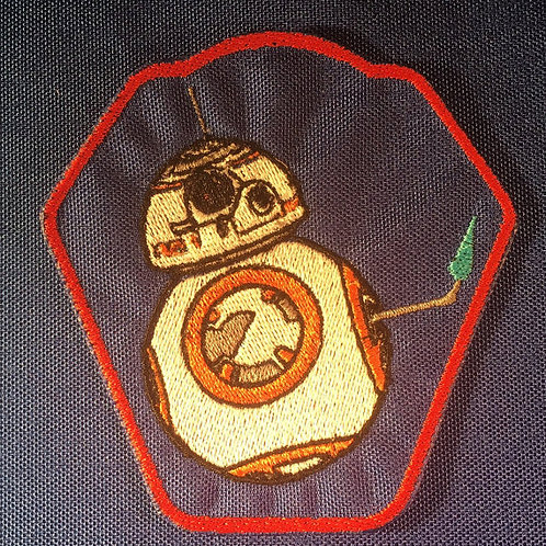 Star Wars inspired BB-8 with lighter Droid Patch