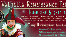 Valhalla Renaissance Faire Returns to SLT For Rollicking Romp Through Elizabethan England