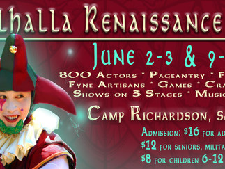 Valhalla Renaissance Faire Returns to SLT For Rollicking Romp Through Elizabethan England
